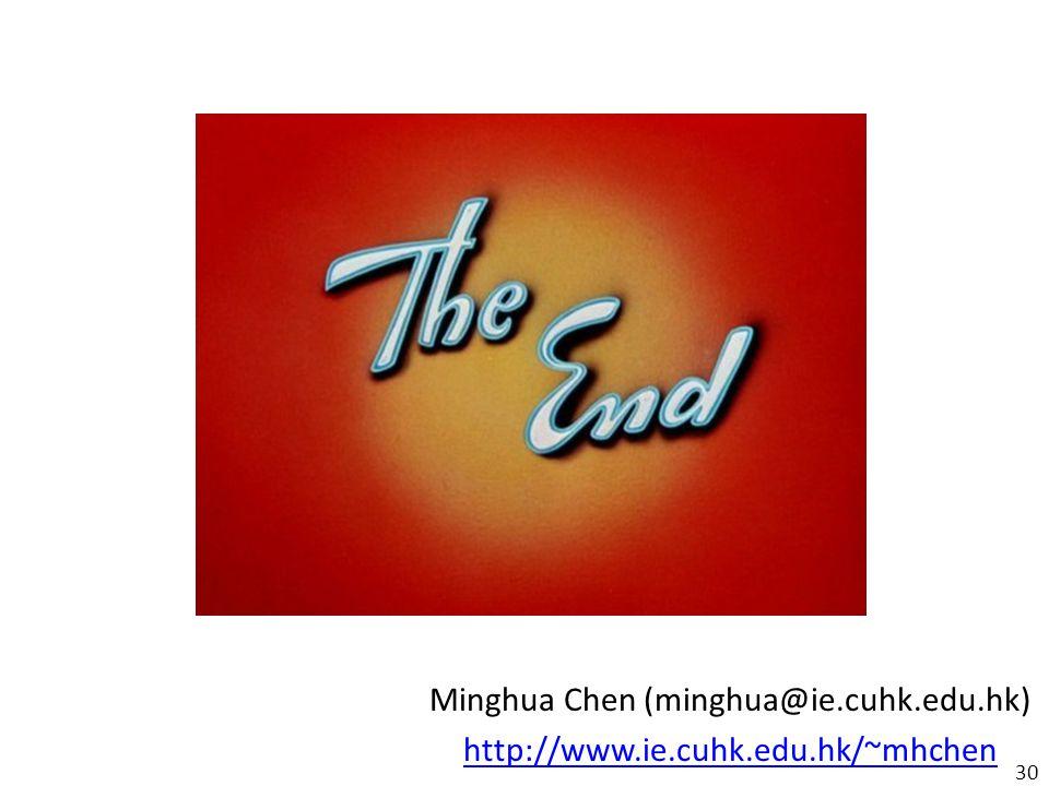 Minghua Chen (minghua@ie.cuhk.edu.hk)