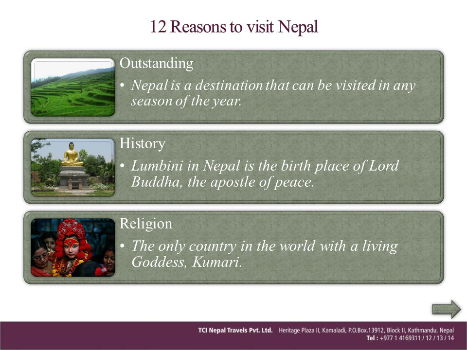 12 Reasons to visit Nepal Outstanding History
