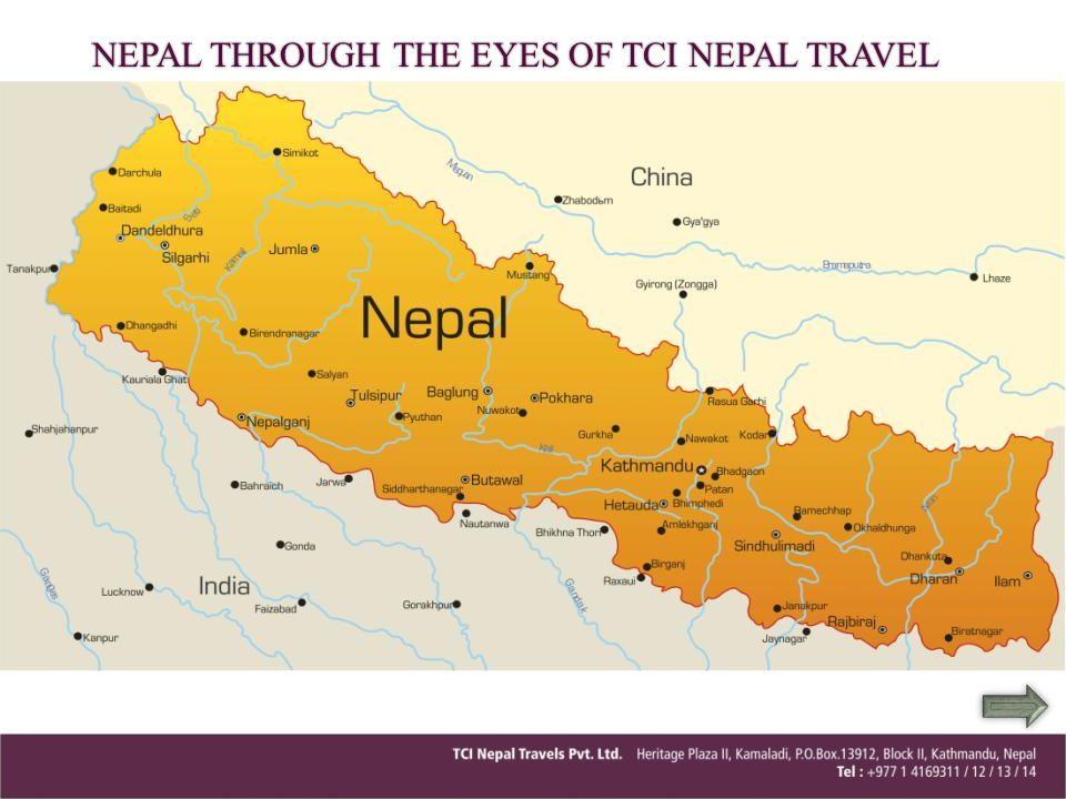 NEPAL THROUGH THE EYES OF TCI NEPAL TRAVEL
