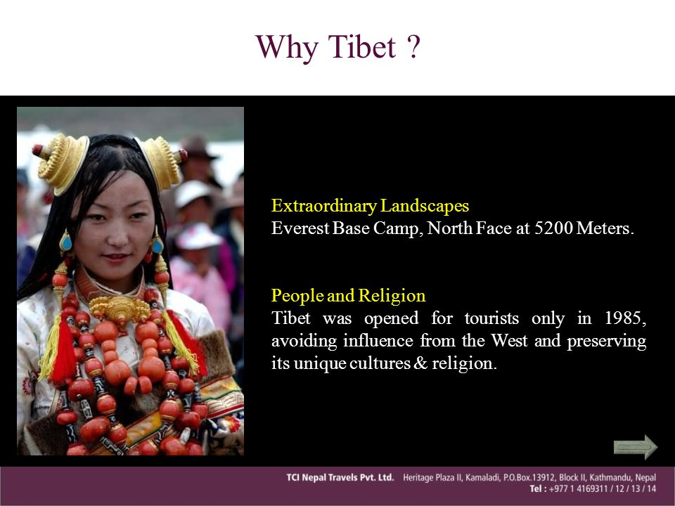 Why Tibet Extraordinary Landscapes