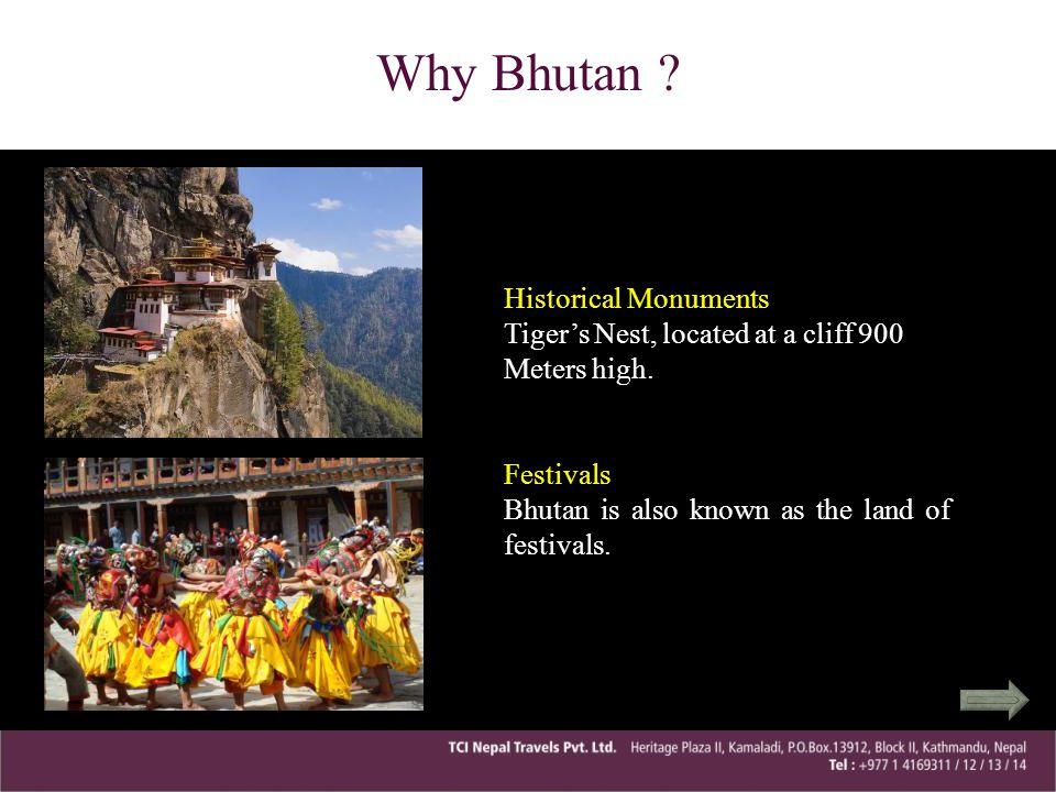 Why Bhutan Historical Monuments