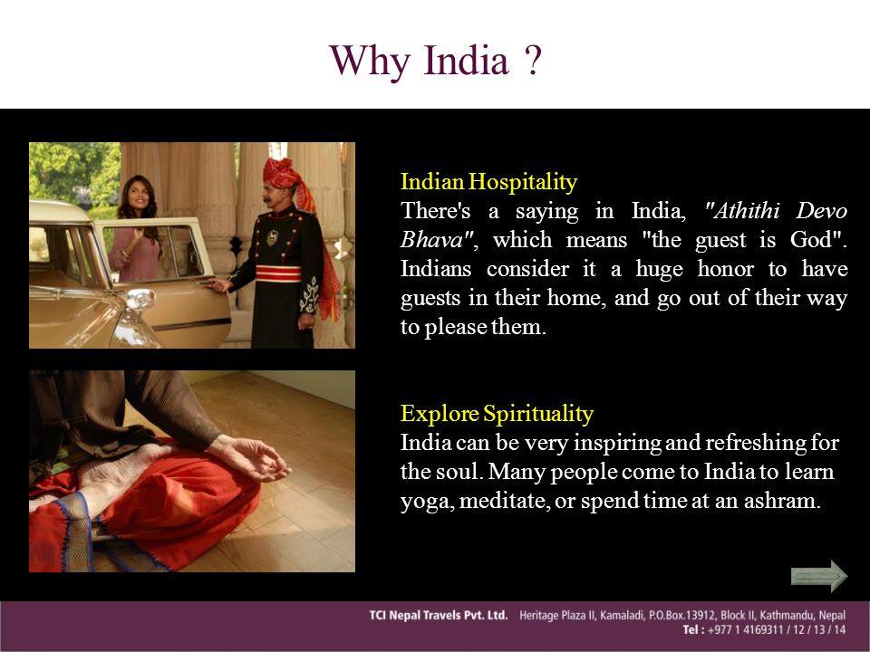 Why India Indian Hospitality