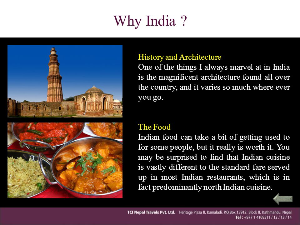 Why India History and Architecture