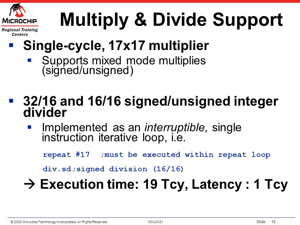 Multiply & Divide Support