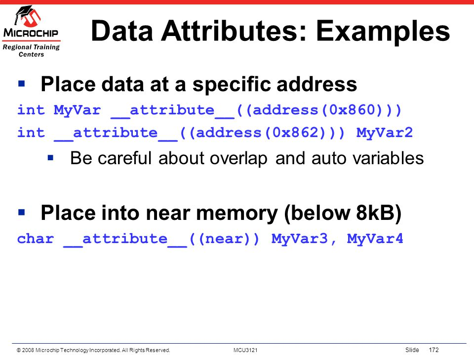Data Attributes: Examples