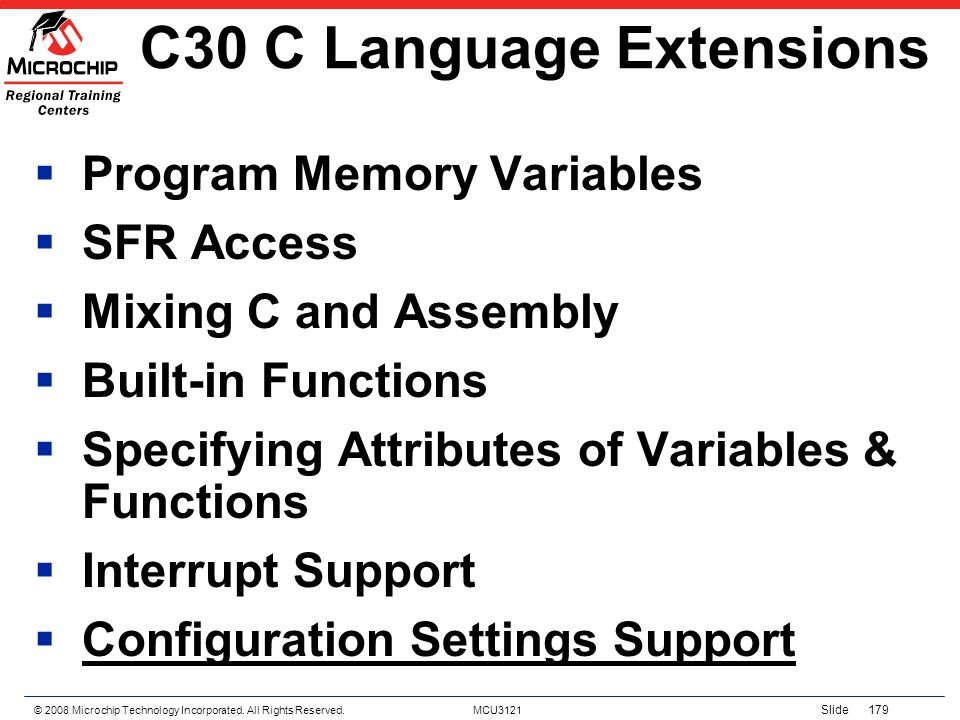C30 C Language Extensions