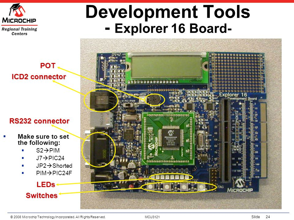 Development Tools - Explorer 16 Board-