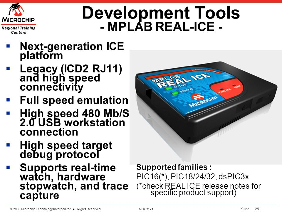 Development Tools - MPLAB REAL-ICE -