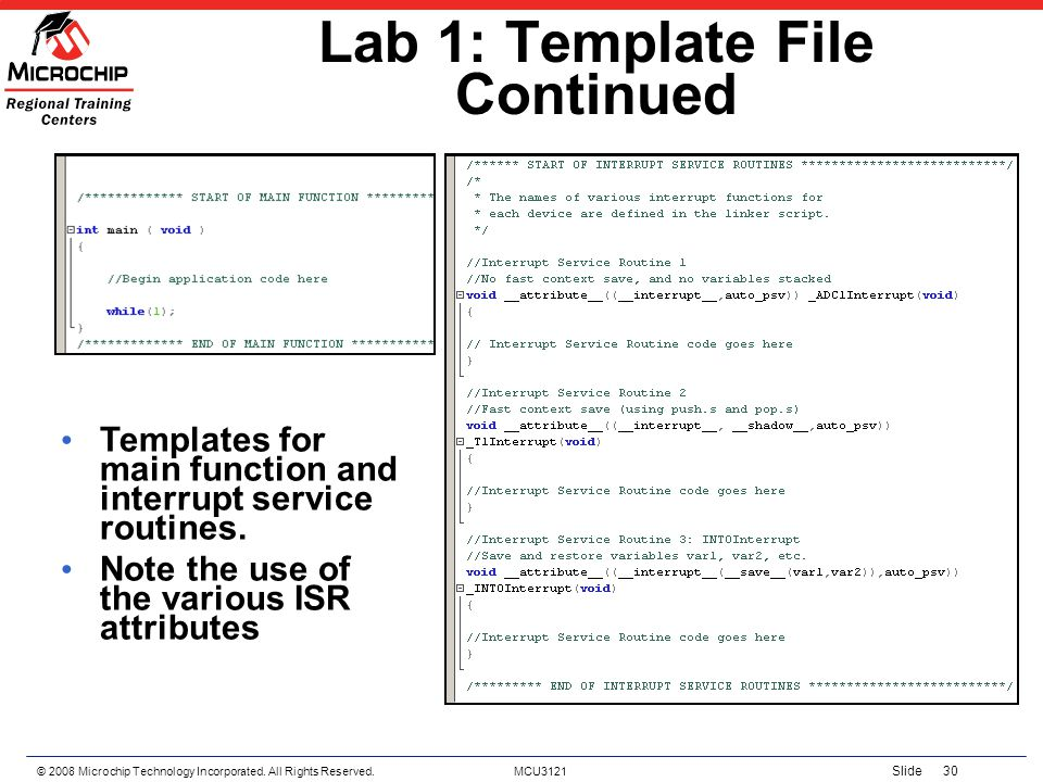 Lab 1: Template File Continued