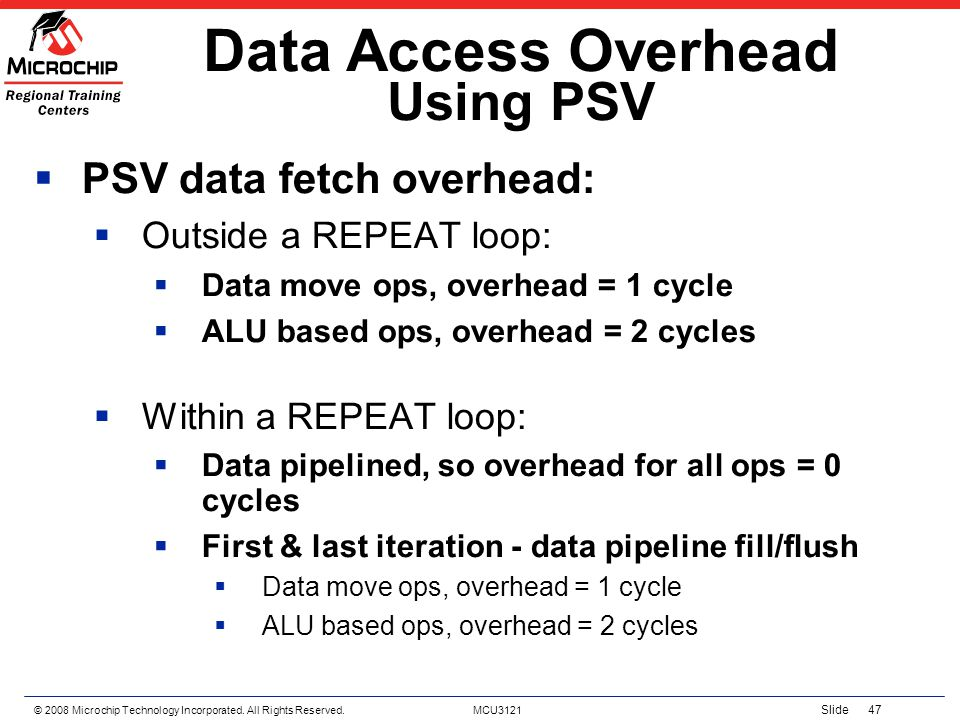 Data Access Overhead Using PSV
