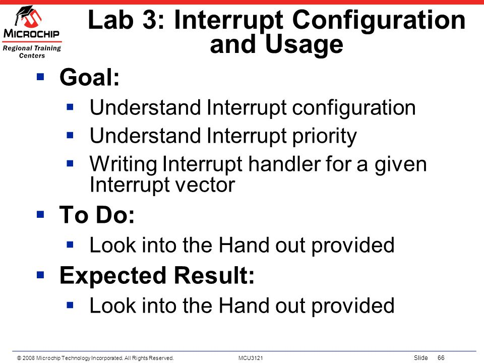 Lab 3: Interrupt Configuration and Usage