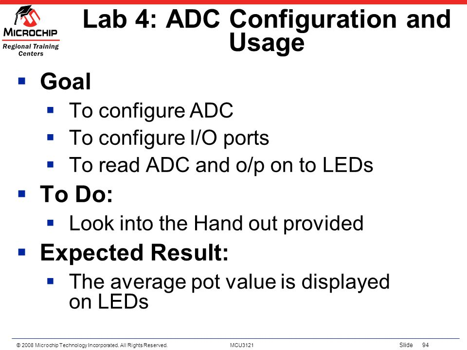 Lab 4: ADC Configuration and Usage