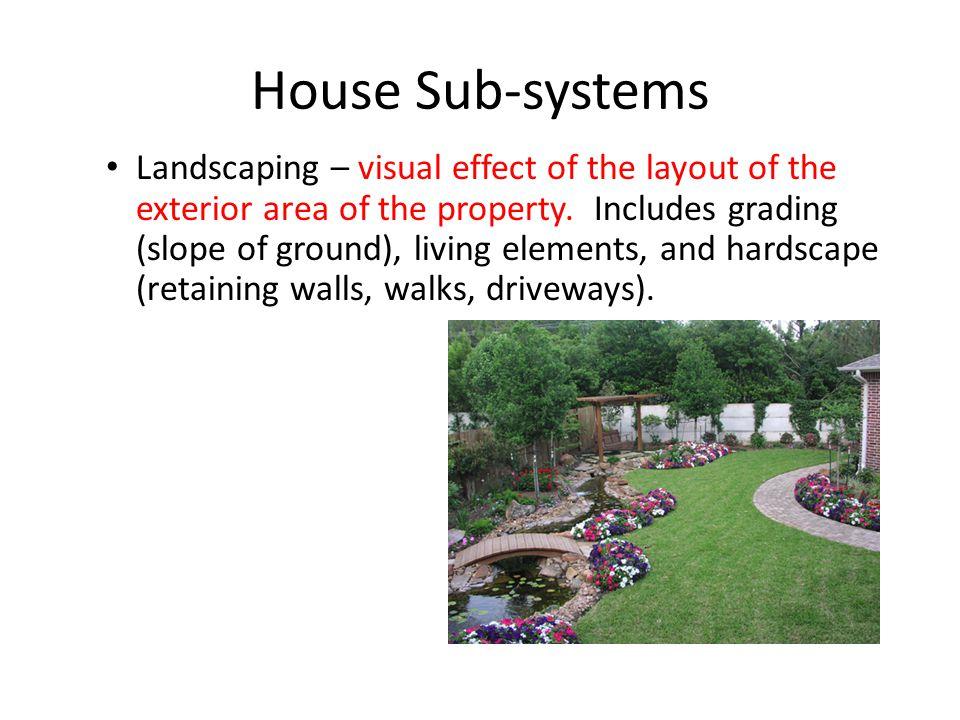 House Sub-systems