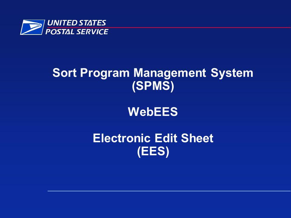Sort Program Management System