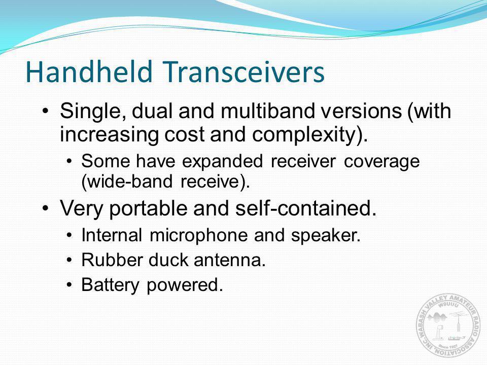 Handheld Transceivers