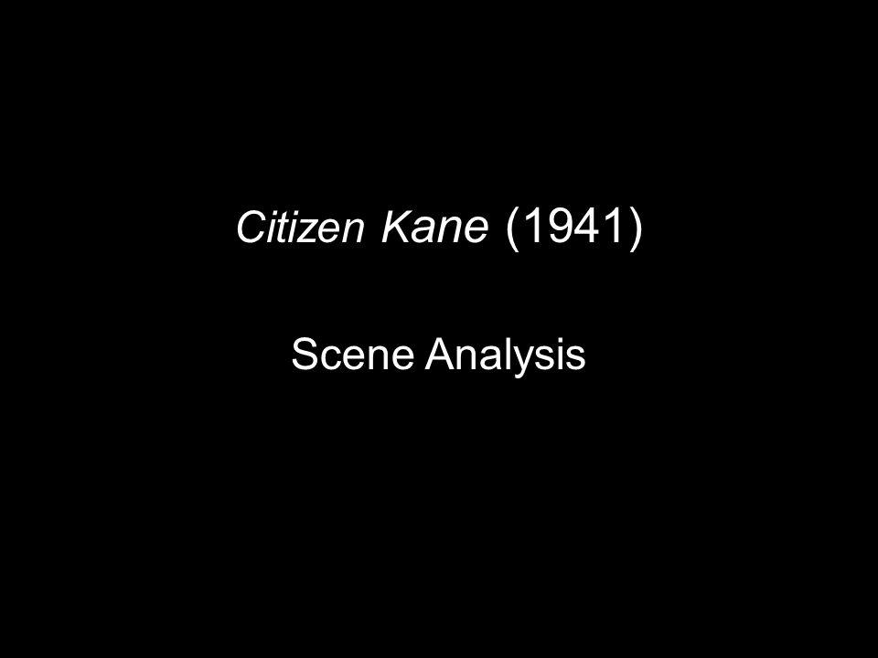 citizen kane scene analysis ppt video online  1 citizen kane 1941 scene analysis
