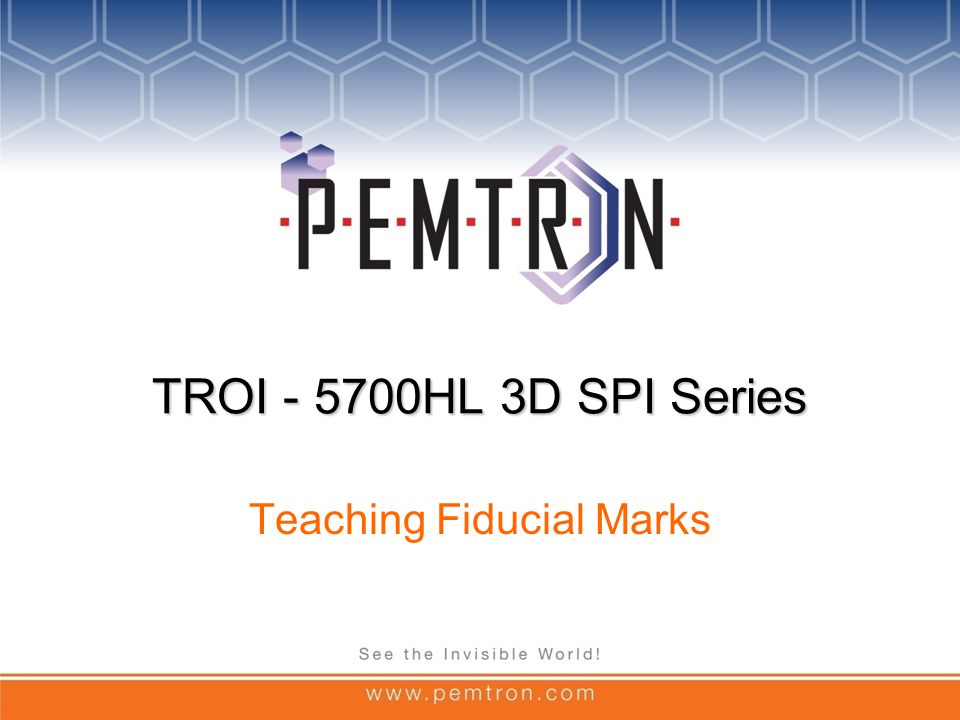 Teaching Fiducial Marks