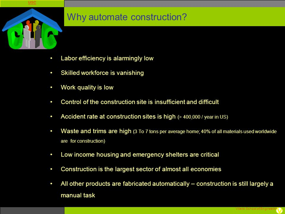 Why automate construction