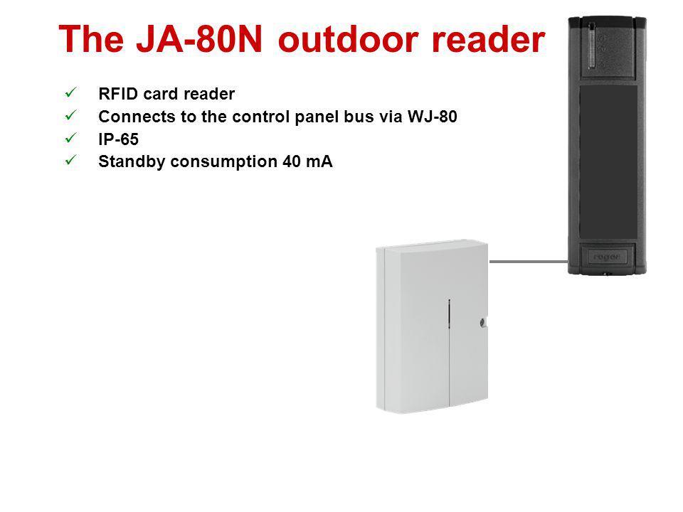 The JA-80N outdoor reader