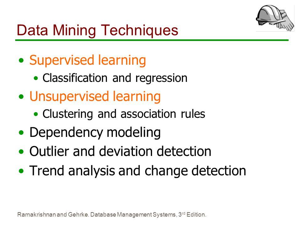 Data Mining Techniques