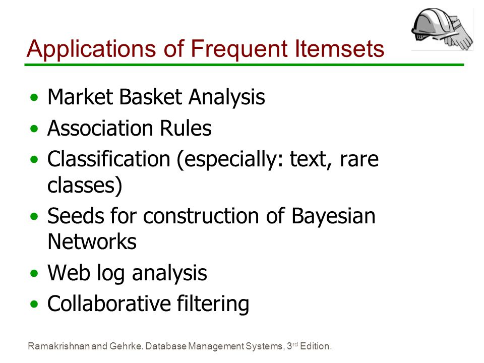 Applications of Frequent Itemsets