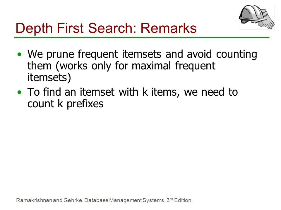 Depth First Search: Remarks