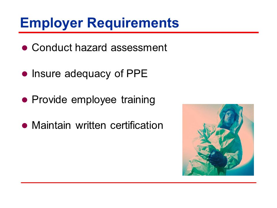 Employer Requirements