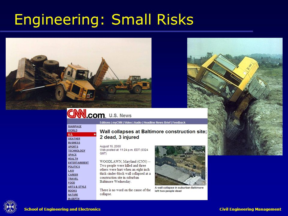 Engineering: Small Risks