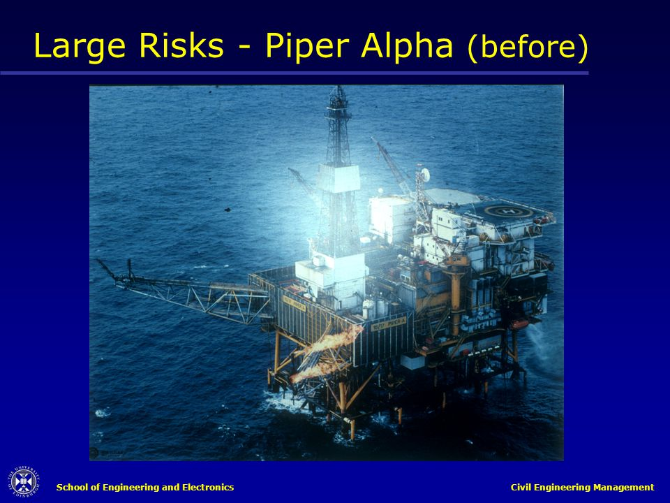 Large Risks - Piper Alpha (before)
