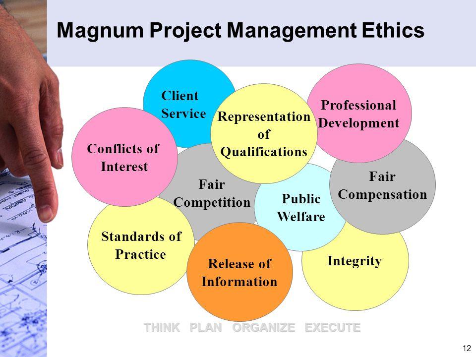 Magnum Project Management Ethics