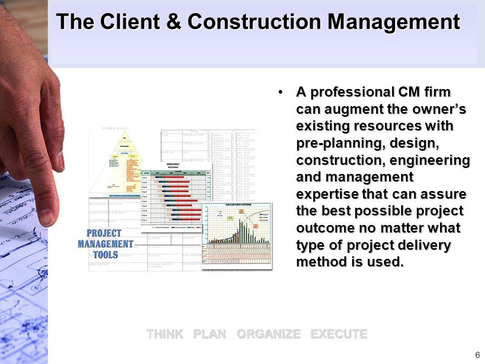 The Client & Construction Management