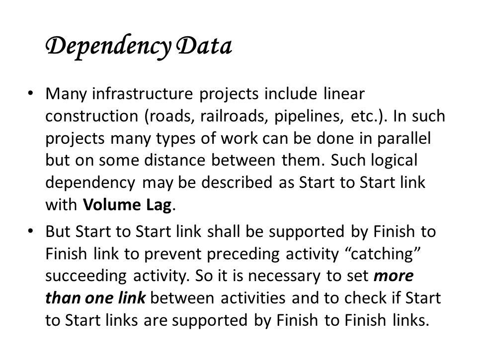Dependency Data
