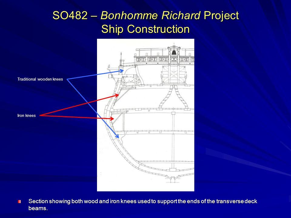 SO482 – Bonhomme Richard Project Ship Construction
