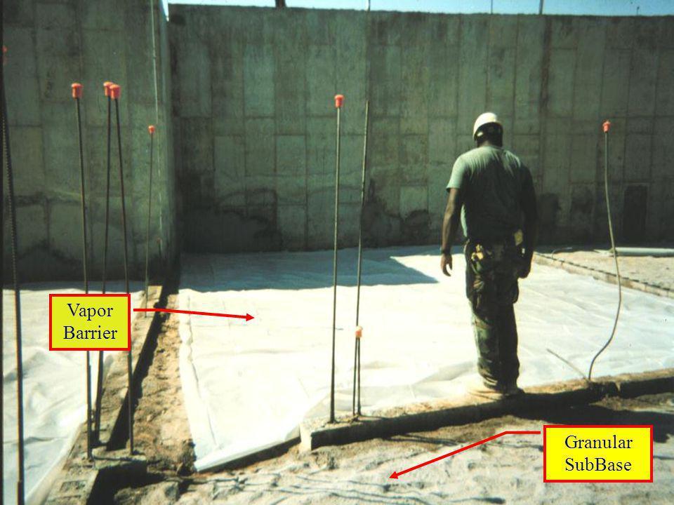 Vapor Barrier Granular SubBase