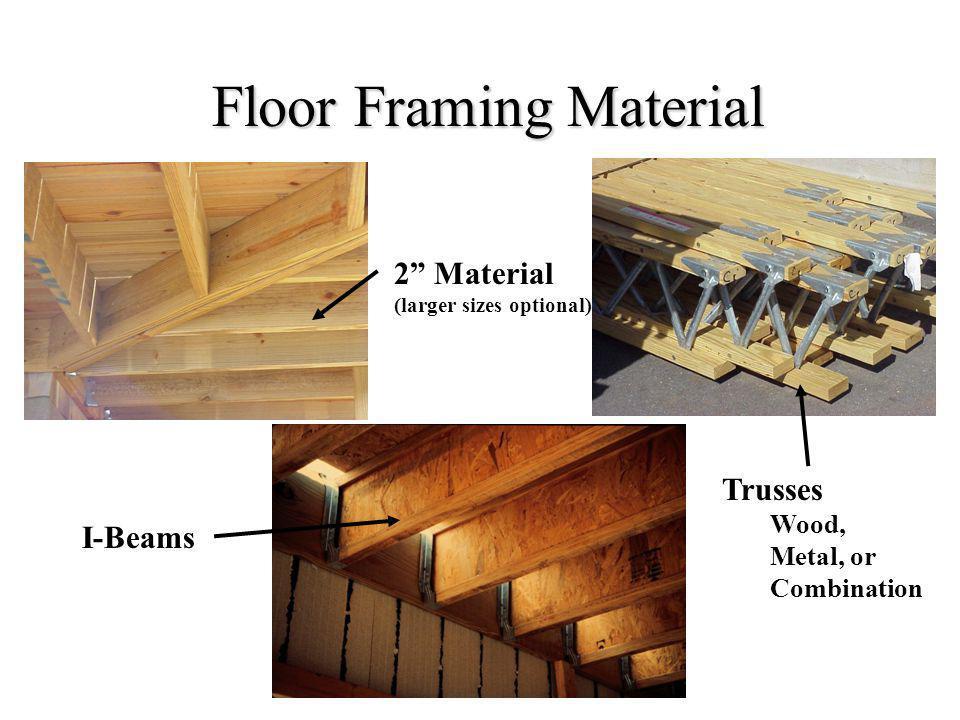 Floor Framing Material