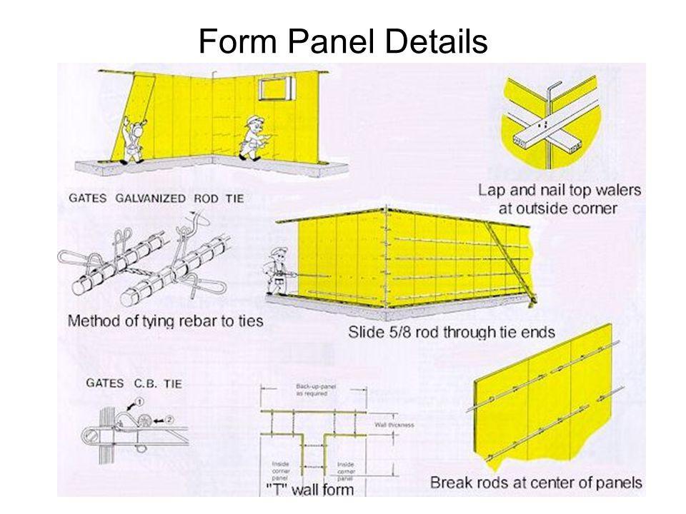 Form Panel Details
