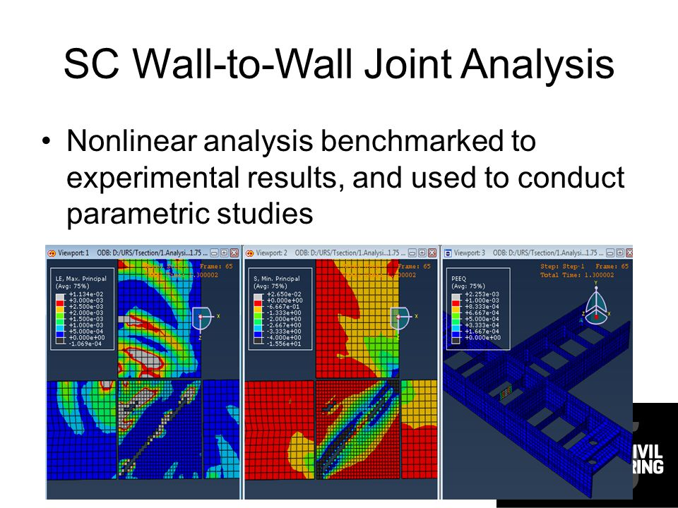 SC Wall-to-Wall Joint Analysis