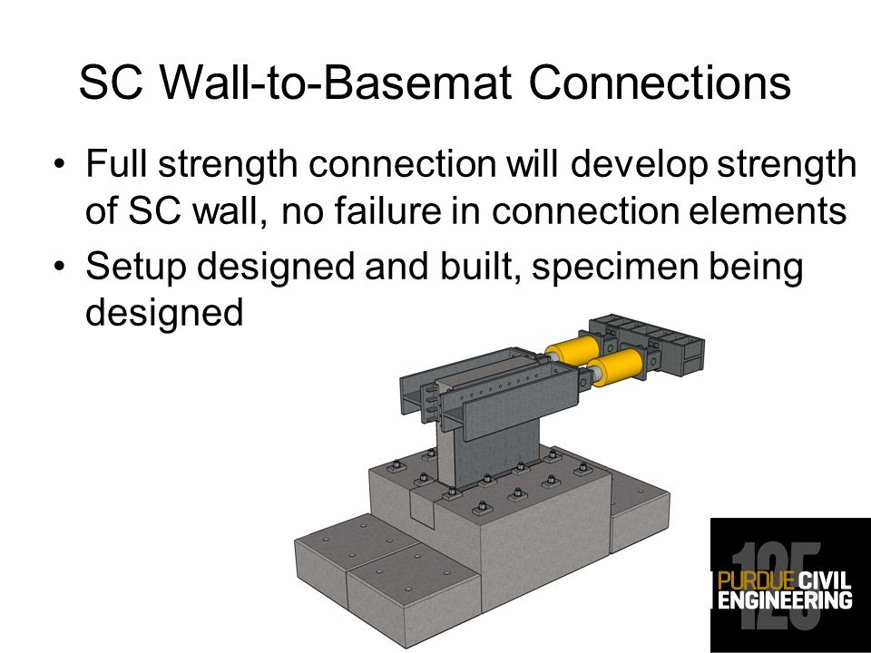 SC Wall-to-Basemat Connections