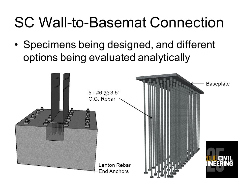 SC Wall-to-Basemat Connection
