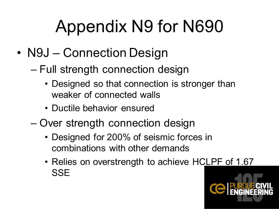 Appendix N9 for N690 N9J – Connection Design