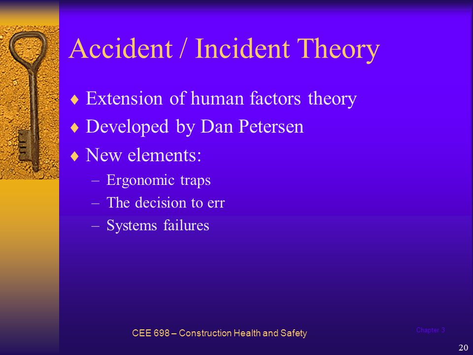 Accident / Incident Theory