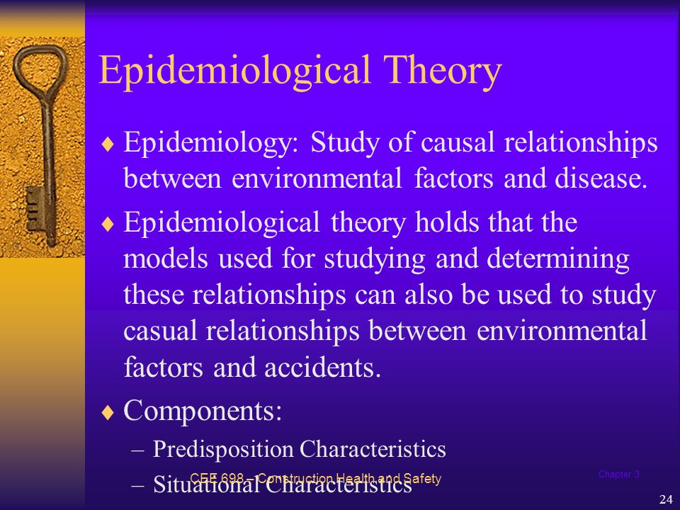 Epidemiological Theory