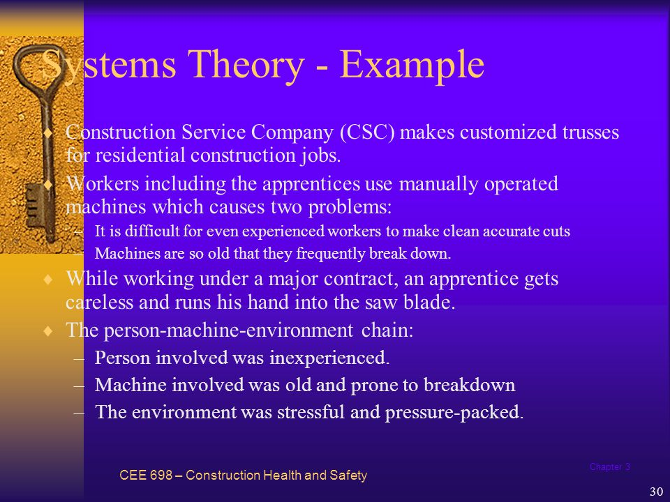 Systems Theory - Example