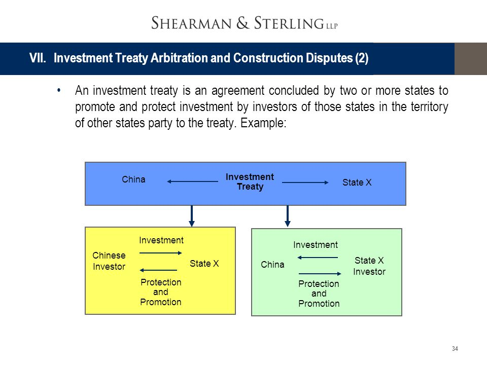 VII. Investment Treaty Arbitration and Construction Disputes (2)