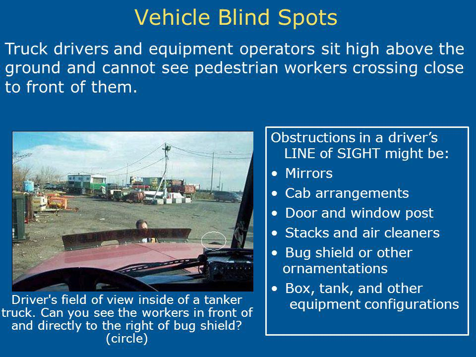 Vehicle Blind Spots
