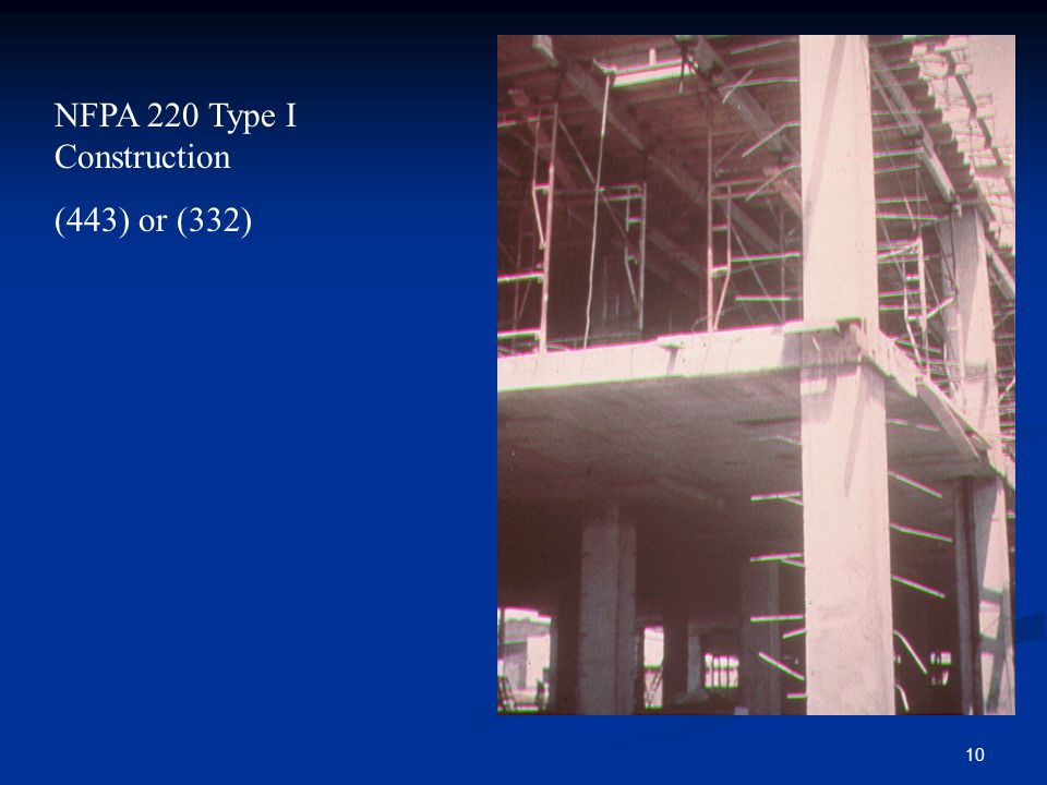NFPA 220 Type I Construction