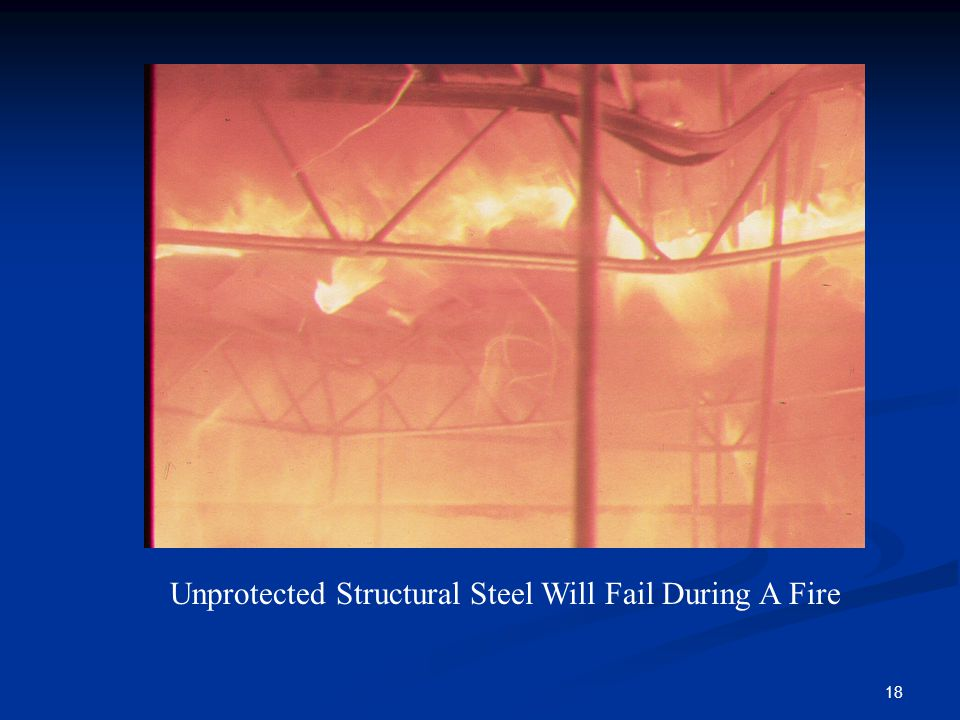 Unprotected Structural Steel Will Fail During A Fire