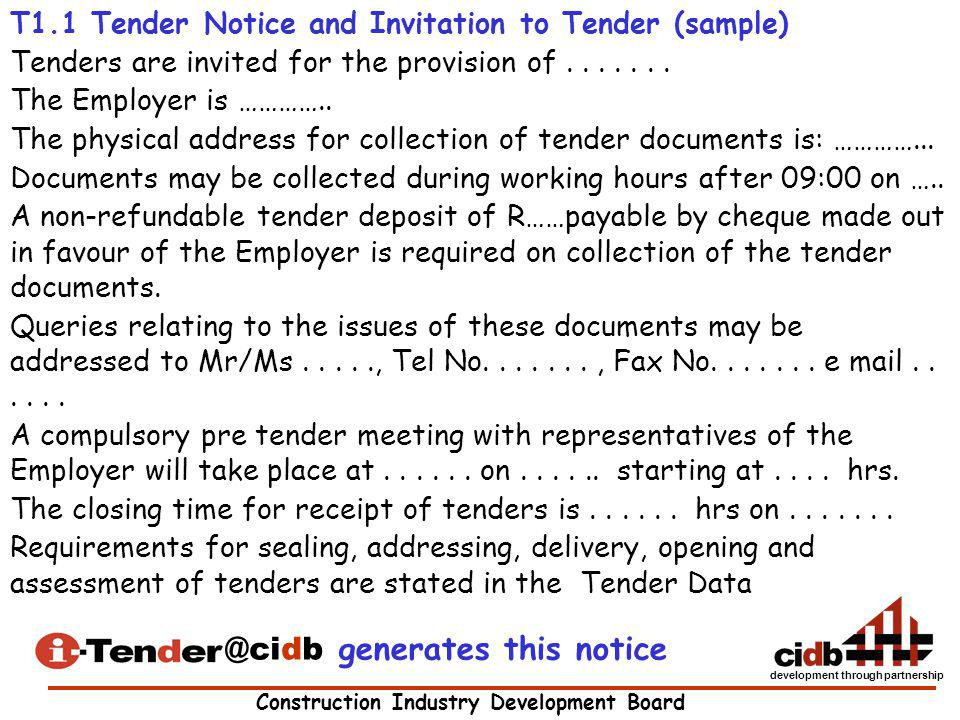 @cidb generates this notice