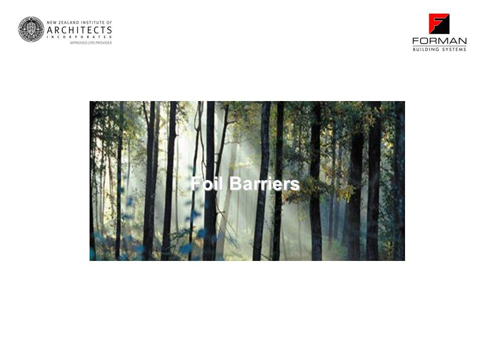 Foil Barriers