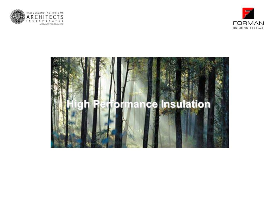 High Performance Insulation